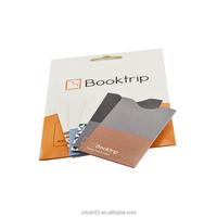 High quality rfid blocking card/passport sleeve for protect your identity