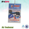 New product black ice scent paper car air freshener