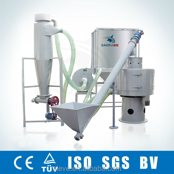 600-700Kg/h Gypsum powder vibratory screen sieve machine system