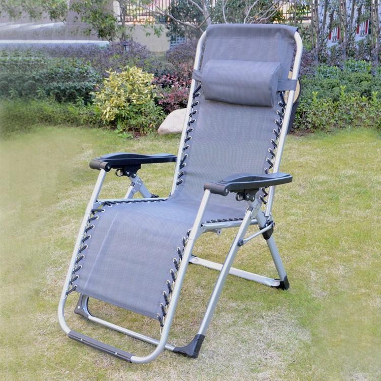 Outdoor Folding Beach Zero Gravity Sling Reclining Chair