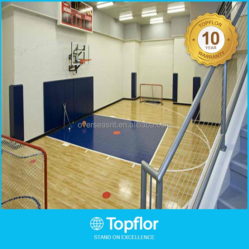 Indoor basketball court sports flooring
