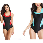 Factory Direct Supply Waterproof Sport Swimwear Sexy Women Sleeve Swimsuit