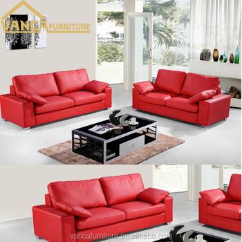 Modern Guangzhou Furniture Executive Living Room Red Leather Sofa - Buy  Guangzhou Furniture Sofa,Executive Living Room Sofa,Guangzhou Furniture ...