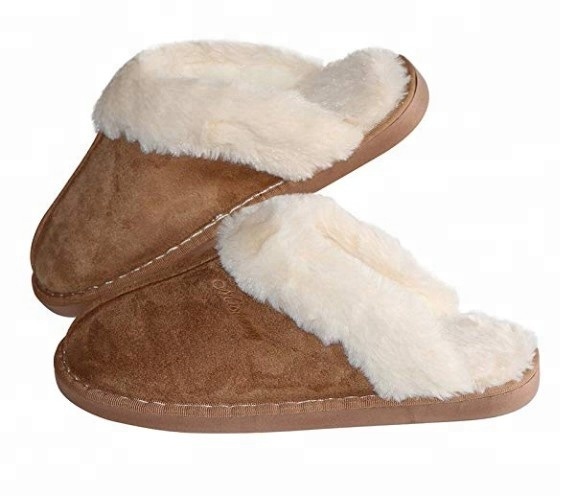 Womens <strong>Slipper</strong> Fluffy Slip On House <strong>Slippers</strong> Clog Soft Indoor Outdoor <strong>Slipper</strong> for Winter
