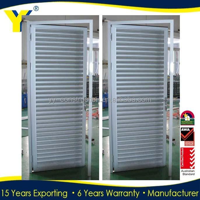 puerta de persiana de aluminio obturadores de la On puerta persiana aluminio