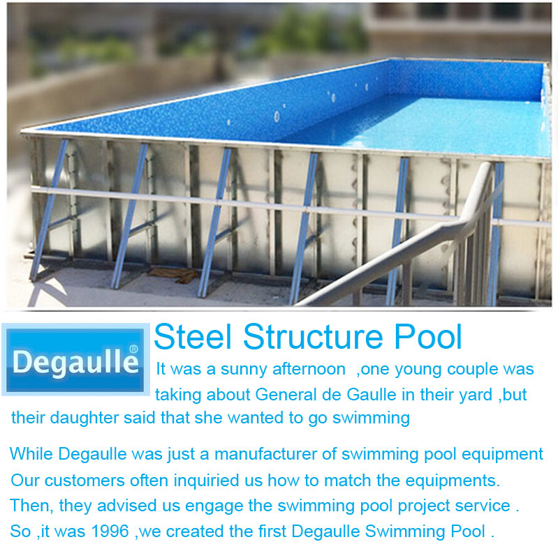 French Degaulle Small Garden Easy Pool With Swimming Pool Filter Accessory Equipment Buy