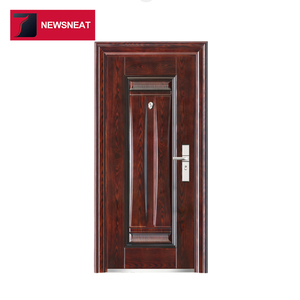 Standard stainless steel security door design China factory supplier