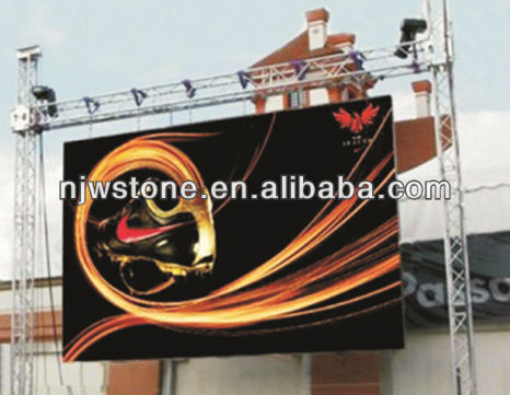 ultra slim, ultra light Outdoor P5.95mm rental LED Display