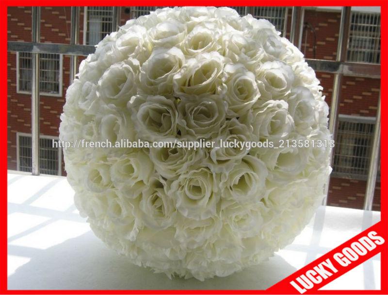 blanc rose fleur ballon boules artificielle rose pour la d coration de mariage fleurs. Black Bedroom Furniture Sets. Home Design Ideas