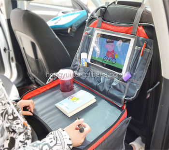 kids folding travel tray snack lap tray table car seat tray table for children dining painting