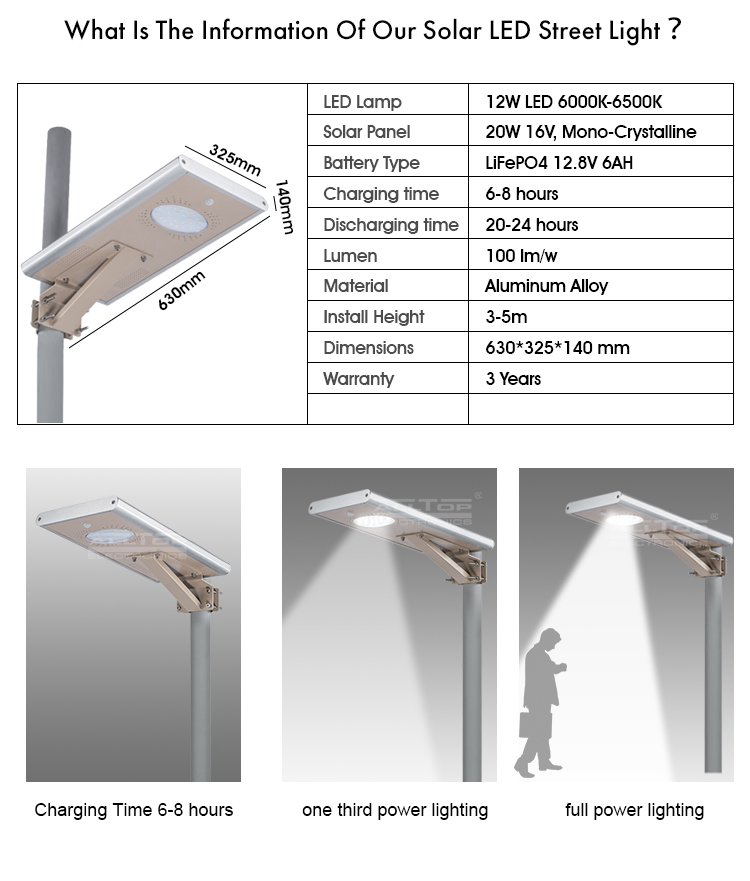 waterproof 30w all in one solar street light high-end supplier-8