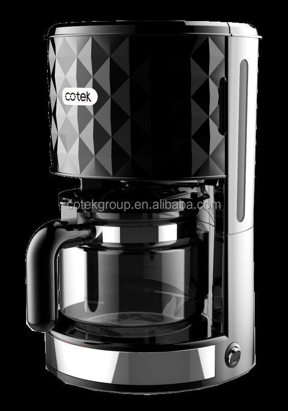 Diamond design High quality 12 cup high temperature drip coffee maker