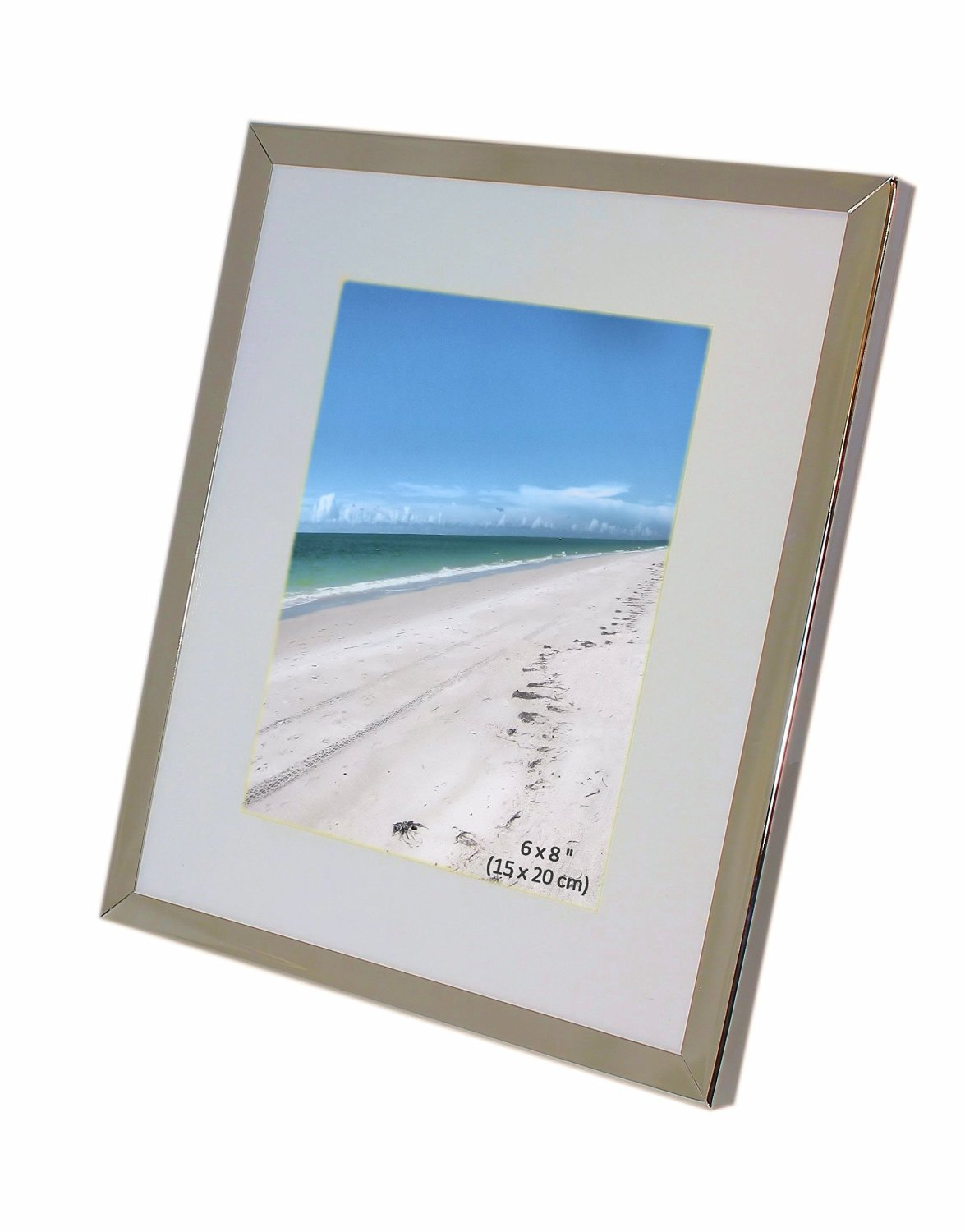 Cheap frame 20 x 8 find frame 20 x 8 deals on line at alibaba iron nickel plated shiny dark silver color photo frame with removable mount takes a photo jeuxipadfo Image collections