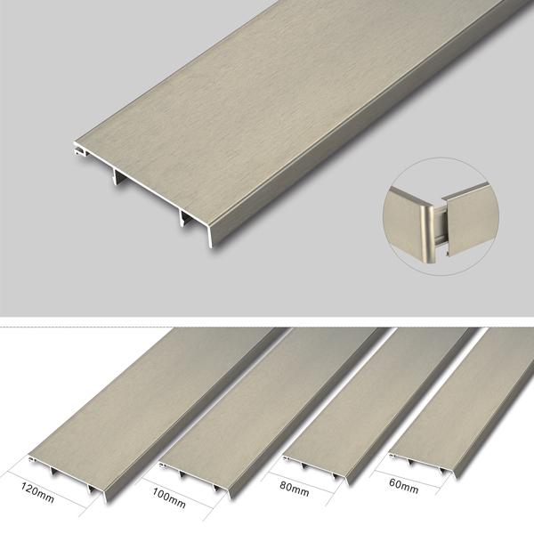 Aluminum Skirting Board Cover,Aluminum Waterproof ...