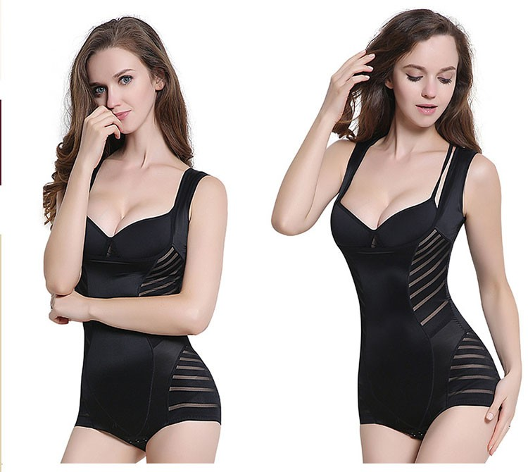 High Quality Lahm Hot Women Waist Shapers Strip Keep Warm Bodysuit
