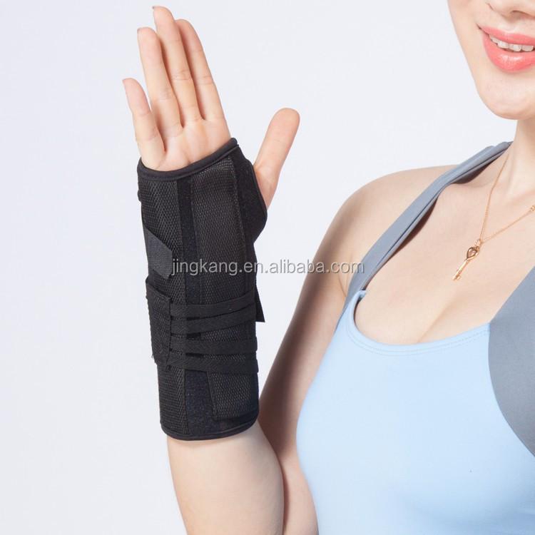 Muñeca inmovilizador confortable en Palm brace barras de aluminio de la  muñeca pulgar secreto 0f2a068ba7ba