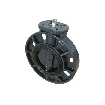 High Quality Plastic Butterfly Valve Flange With Electric Actuator