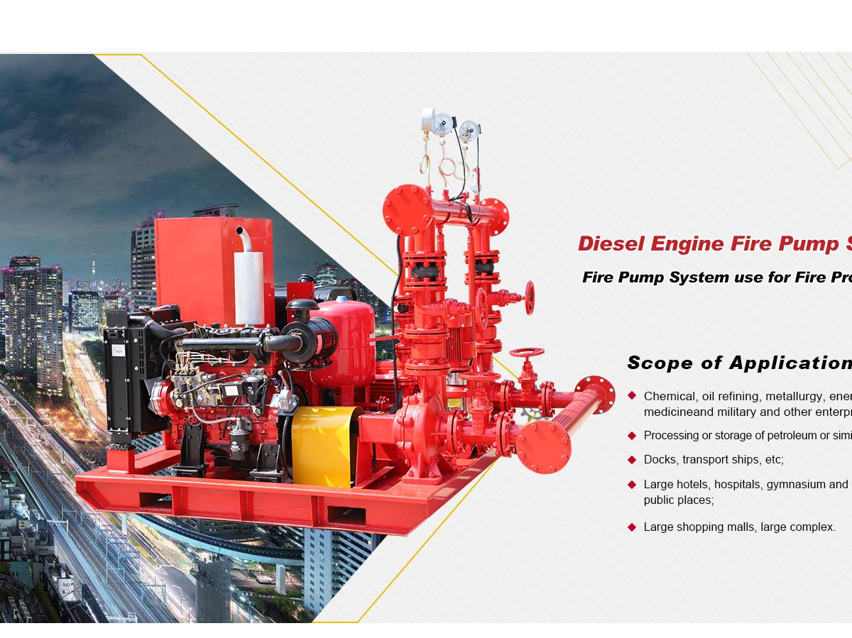Better Technology Co , Ltd  - Fire pump, Fire fighting pumps