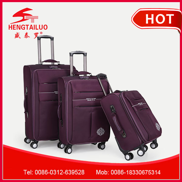 travel bag with 4 wheels good nylon luggage royal polo luggage trolley case