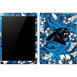 NFL Carolina Panthers iPad Pro Skin - Carolina Panthers Tropical Print Vinyl Decal Skin For Your iPad Pro