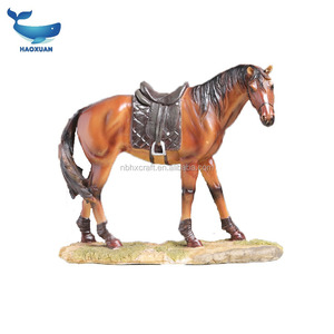 ZZW0056 HAOXUAN Personalized resin crafts flying horse statue for office decoration
