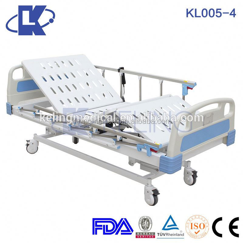 Advanced hospital electric bed price five function /medical bed for sale icu room multi-function hospital bed parts
