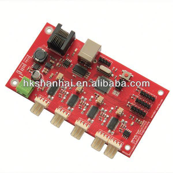 RepRap Controller Board Printerboard square thread bolt and nut