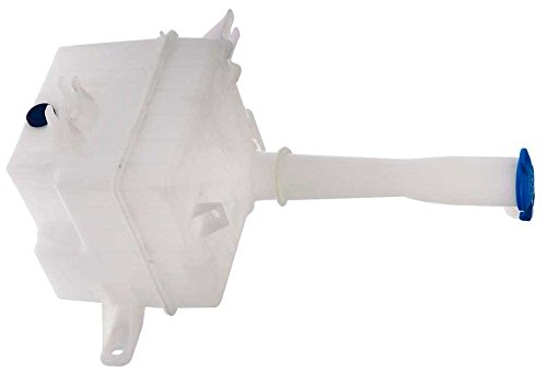 APDTY 714644 Windshield Wiper Washer Fluid Reservoir Bottle Housing w/ Cap Fits 2006-2010 Hyundai Sonata (Replaces 986203K100, 986233K000_