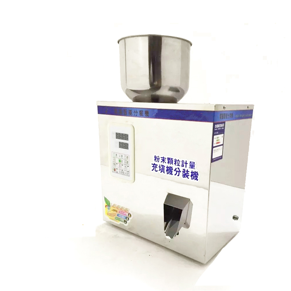 2-100g Coffee Bean and Coffee Powder Filling Machine Stainless Steel