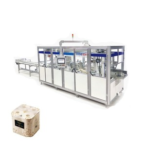 Tissue paper making machine automatic toilet tissue paper packing machine