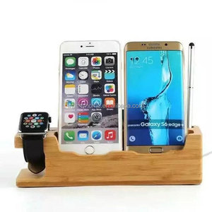 Bamboo Universal Multi-device dock charger for phone and watch
