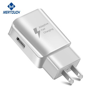 5V 2A wall charger for iphone X , 9V 1.67A adaptive fast charging for Samsung S9 , 12V 1.25A USB power adapter