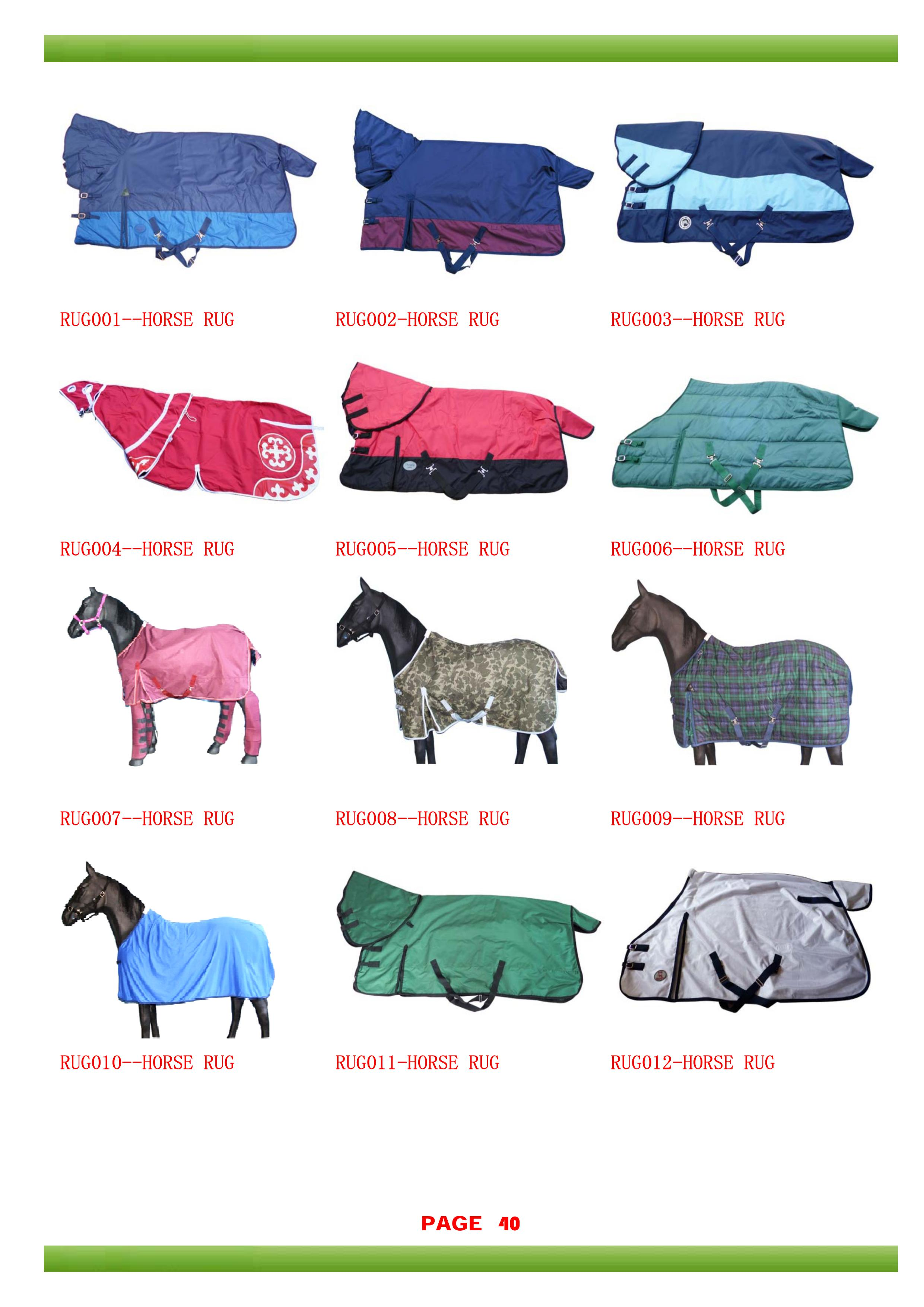 Horse Blanket Rug View Fly Rugs