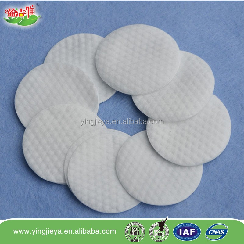 High quality cotton pads for facial cosmetics/cosmetic cotton pads Christmas Gift