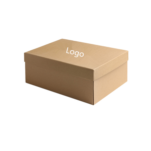 Corrugated paper board niker shoes gift packaging box custom