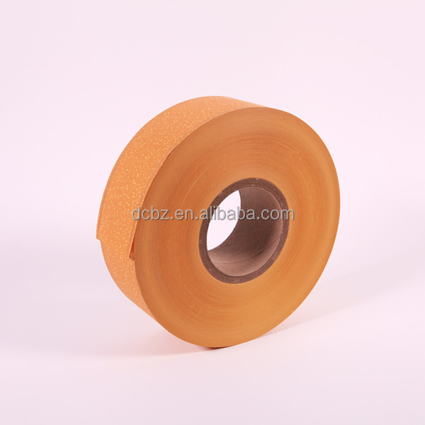 Cigarette head filter acetate tow 35gsm yellow tipping paper with golden line