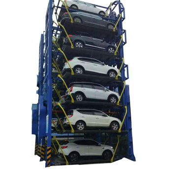 Meysher brand smart vertical rotary car parking system Chinese electric parking lift Automatic parking solution