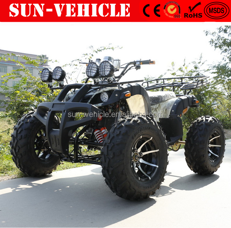 cheap gas four wheelers quad bike good quality ATV 350cc 4x4 quad bike 4 wheel motorcycle for adults