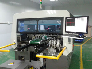 LED lamp manufacturing machinery, wire making machine high speed pick and place robot machine, SMT machine
