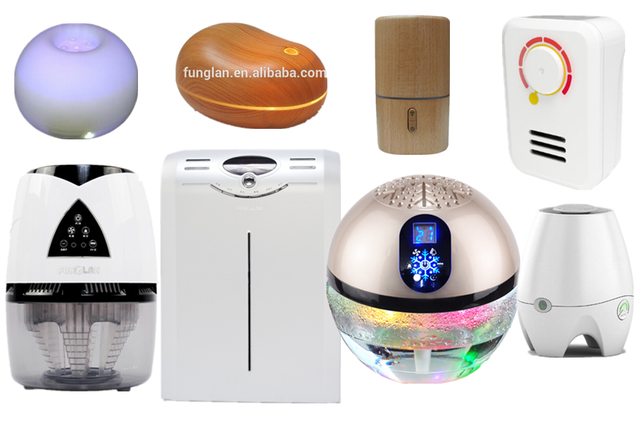 Health Care Products Fresh Air Globe Air Purifier Patente Water Air  Freshener Ioninc UV Remove Formaldehyde