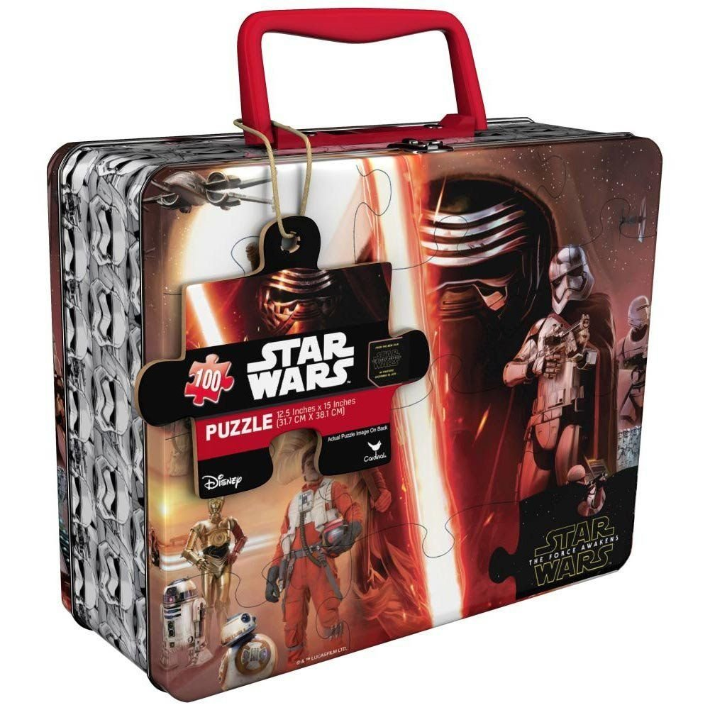 Star Wars Episode VII Puzzle with Tin Case by Cardinal