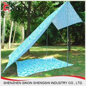 hot sale high quality custom sun shade beach tent sun umbrella canvas beach tents