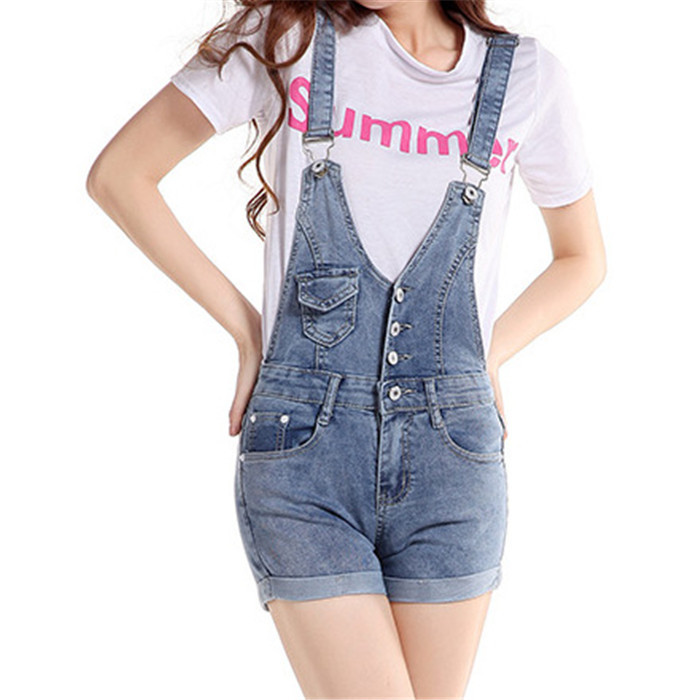 b97cb0d2c62 Buy 2015 New fashion summer style denim shorts jumpsuit regular womens short  jumpsuits femme combinaison short women dknv64 in Cheap Price on m .alibaba.com