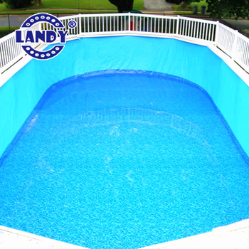 Vinyl Liner Swimming Pool Coping Oval Shape Water Renovation