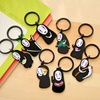 8*2.5CM Japan and Korea mobile phone pendant lovely faceless male key ring female Korean couple acrylic key chain