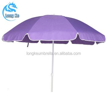 Standard Size Purple Beach Umbrella