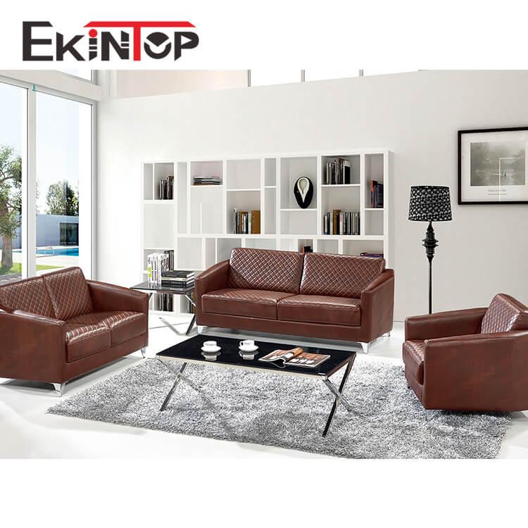 Furniture White Leather Sofa Set