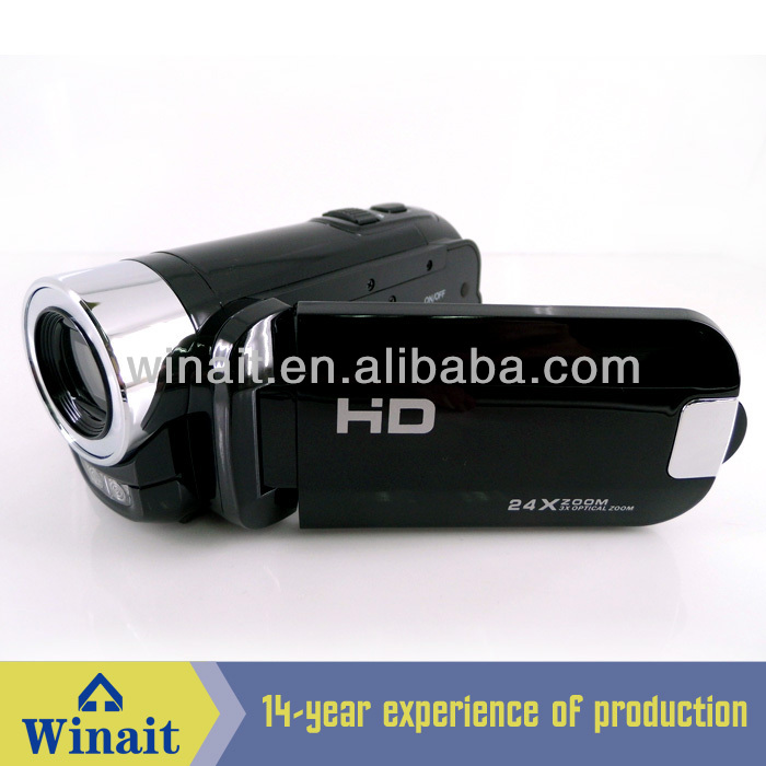 HD 720p optical zoom digital video camera good quality! (HDV-66)