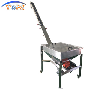 with Vibrating Hopper Inclined Screw Conveyor/Auger Feeding Machine