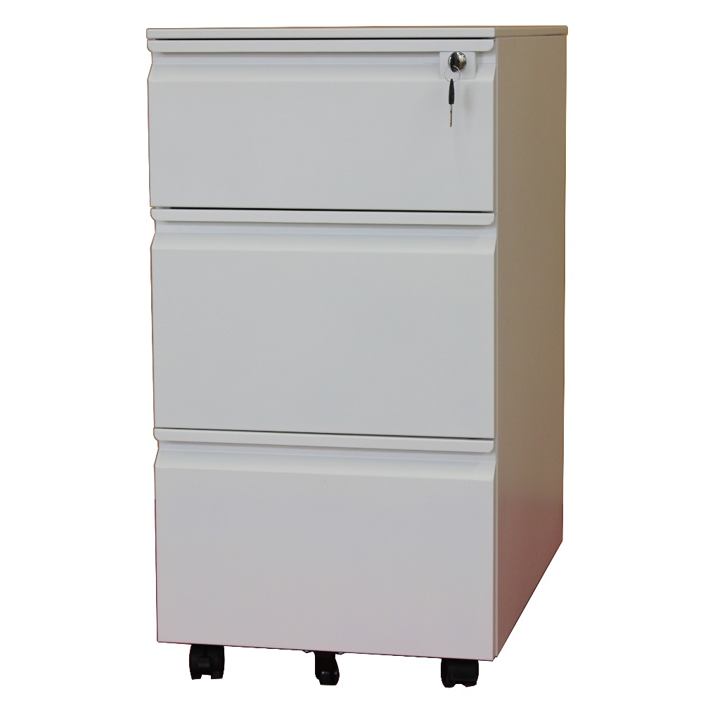 Pencil Tray 3 Box Drawer Movable File Cabinet